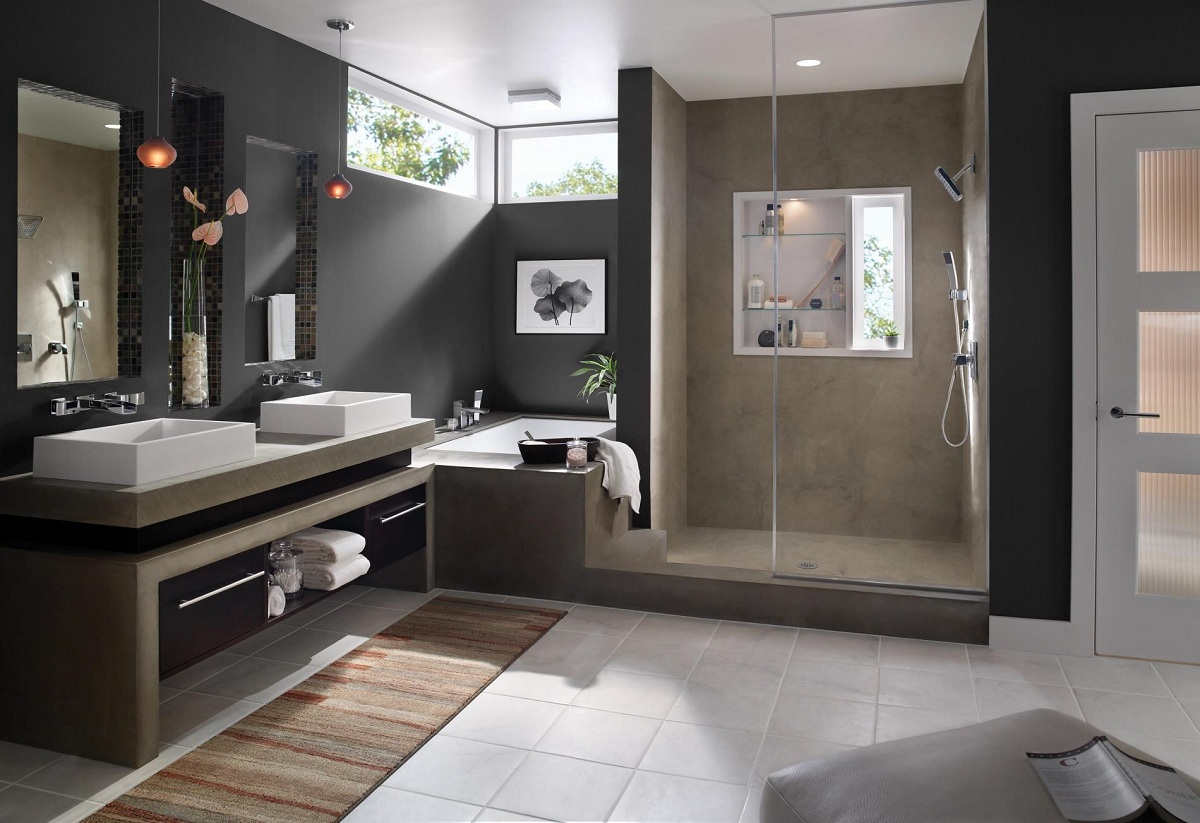 Modern Ideas For The Design Of Bathrooms In 2018