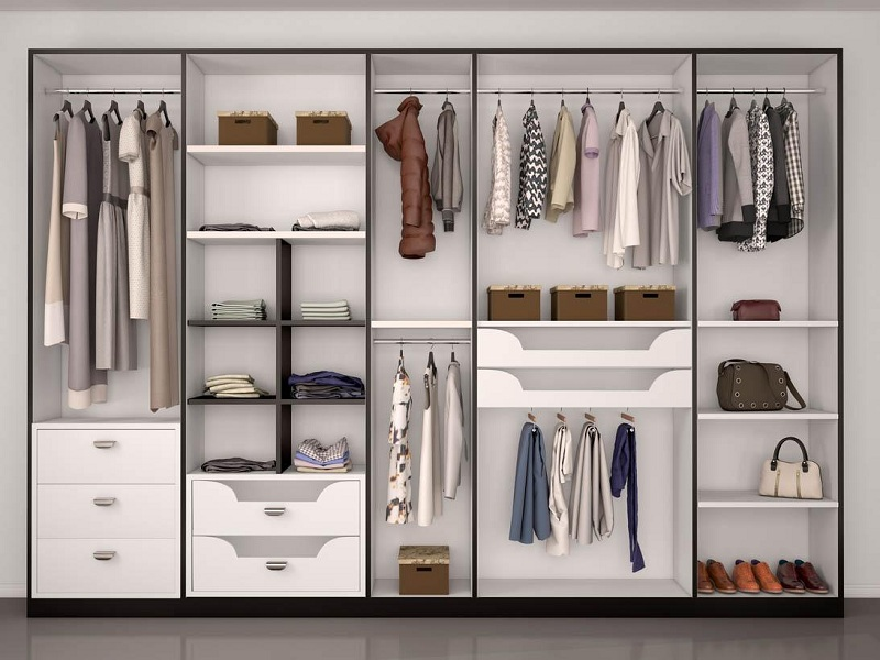 Learn To Organize and Renovate the Wardrobe in 3 Simple Steps