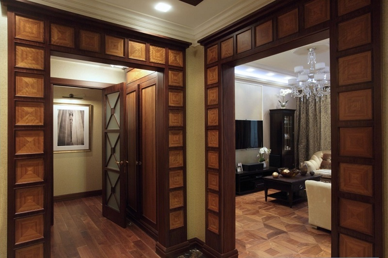 Decoration Of The Doorway Without A Door- Decorative Options
