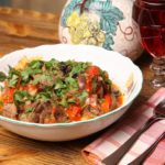 Beef Khashlama With Potatoes- Recipe With Step By Step