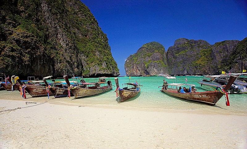 Phuket - Thailand in Januar