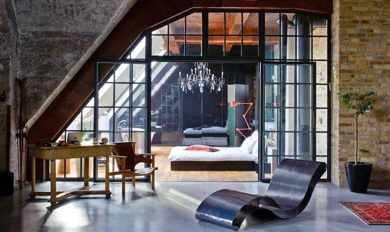 Скляні перегородки в дизайні квартири