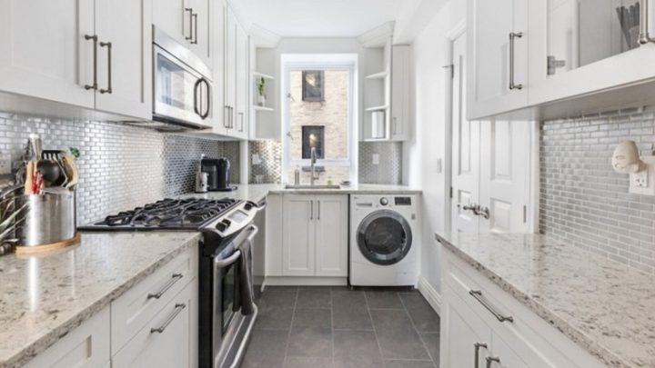 Kitchen Design With Washing Machine