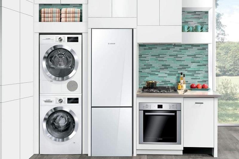 Kitchen Design With Washing Machine Think Different