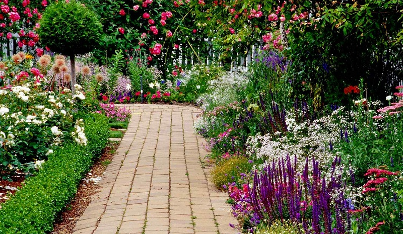 How To Make Garden Paths From Wood, Stone, Gravel?