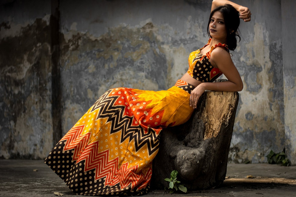 Folklore Style Of Clothing In The Women's Wardrobe