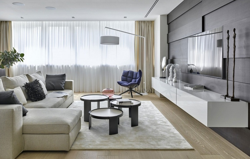 Contemporary Style In The Interior Of The Apartment