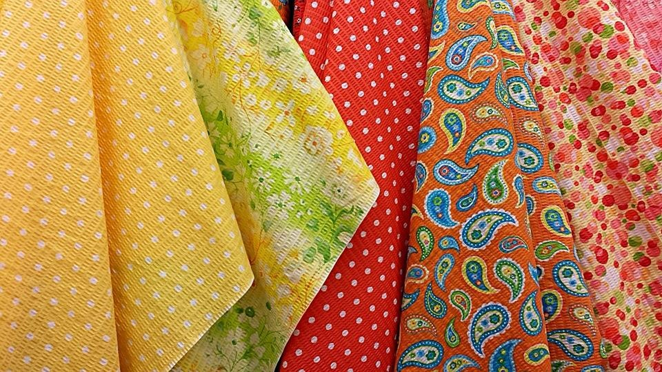 Common clothing fabrics and the best ways to use them