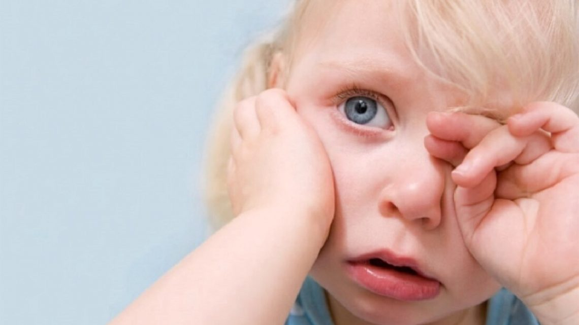 The Child Has Red Eyes – Possible Problems