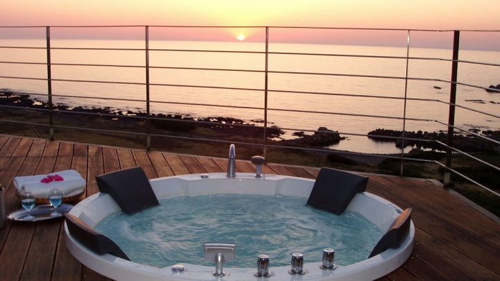 How to setup jacuzzi on the roof terrace
