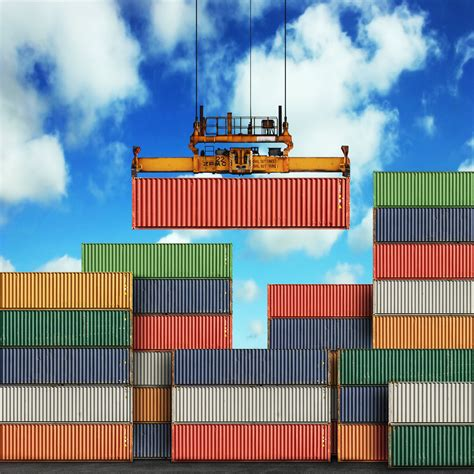 What sorts of things are transported in shipping containers?